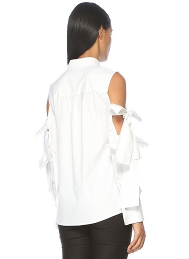 Kol Detaylı Gömlek-Cameo